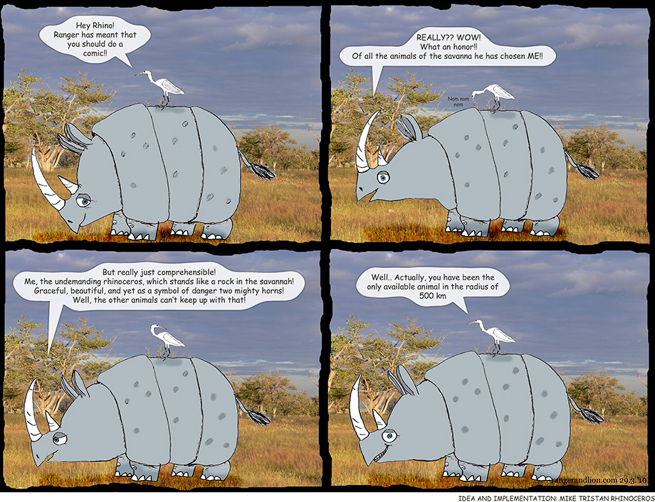 A Guest Comic by the Rhinoceros